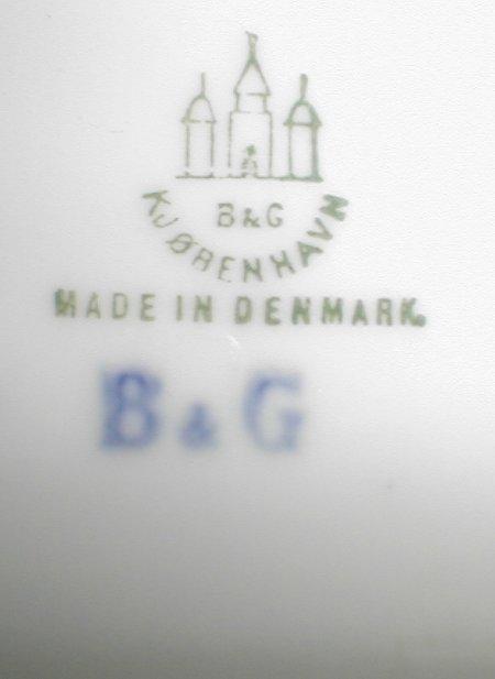 dating b&g porcelain Egedal